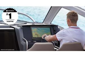 Ahora ya puedes disfrutar de la tranquilidad con los mapas Garmin y Navionics, líderes del sector a bordo
