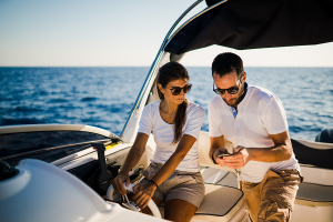 Boating App: Share Your Saved Items Easily with the Connections Feature