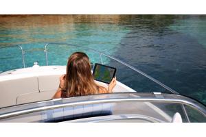 Nutze deinen Kartenplotter optimal mit der Navionics Boating-App