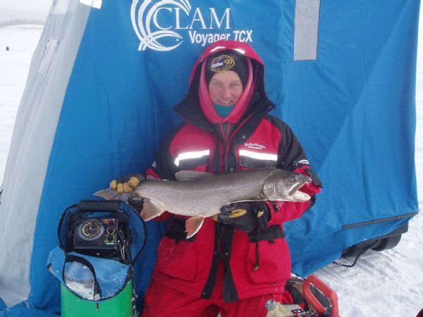 Webinar: Ice Fishing for Lake Trout with Bernie Keefe & Kirt Hedquist