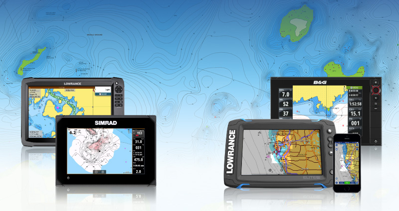 Lowrance, Simrad and B&G now compatible with Plotter Sync