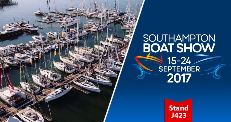 Southampton Boatshow: save 10% on chart updates!
