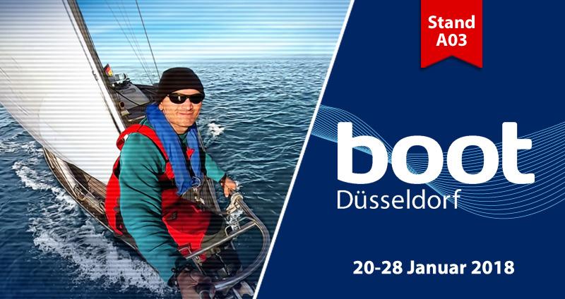 Besuchen Sie uns auf der boot an Stand A03, Halle 11!