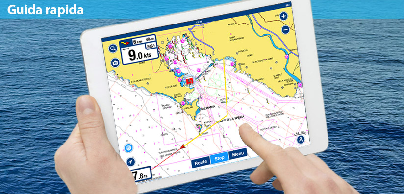 Come registrare il tuo percorso con l'app Boating!