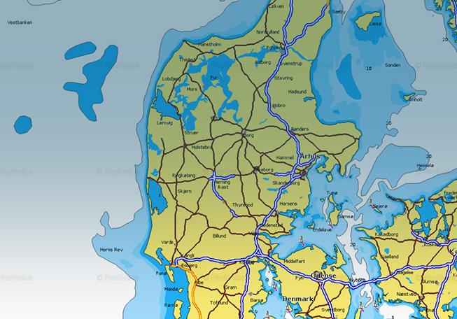 Denmark: 5 lakes added