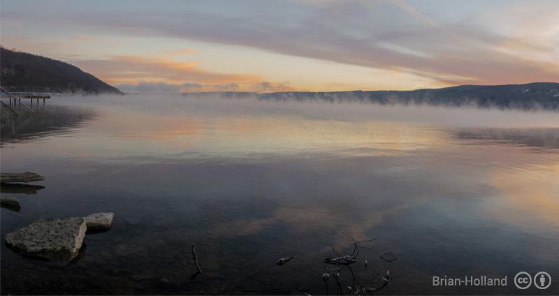 Updates to the bathymetry of Keuka lake