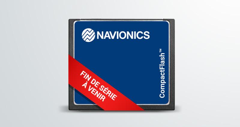 Les cartes Compact Flash arrivent en fin de série