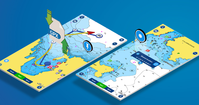 New GPX Import/Export and More for Sharing in the Boating App   ​