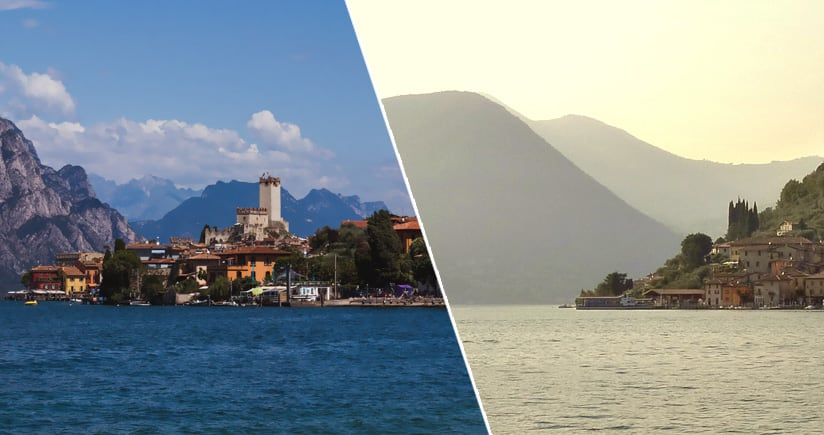 Lake Garda and Lake Iseo charts are improved and are even more beautiful
