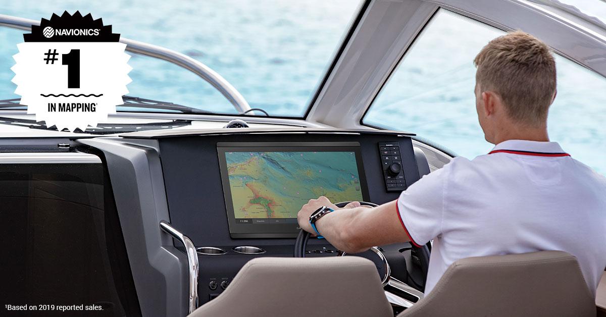 Naviga con serenità con le mappe Garmin-Navionics