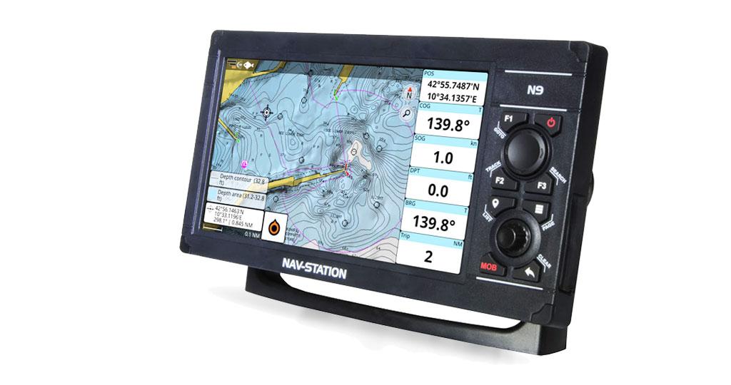 La compatibilità Navionics si espande ai plotter GPS Nav-Station