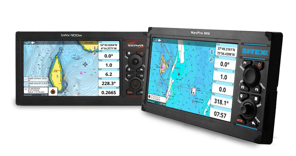 Erweiterung der Kompatibilität mit Navionics auf die Navigationssysteme von Si-Tex und Seiwa