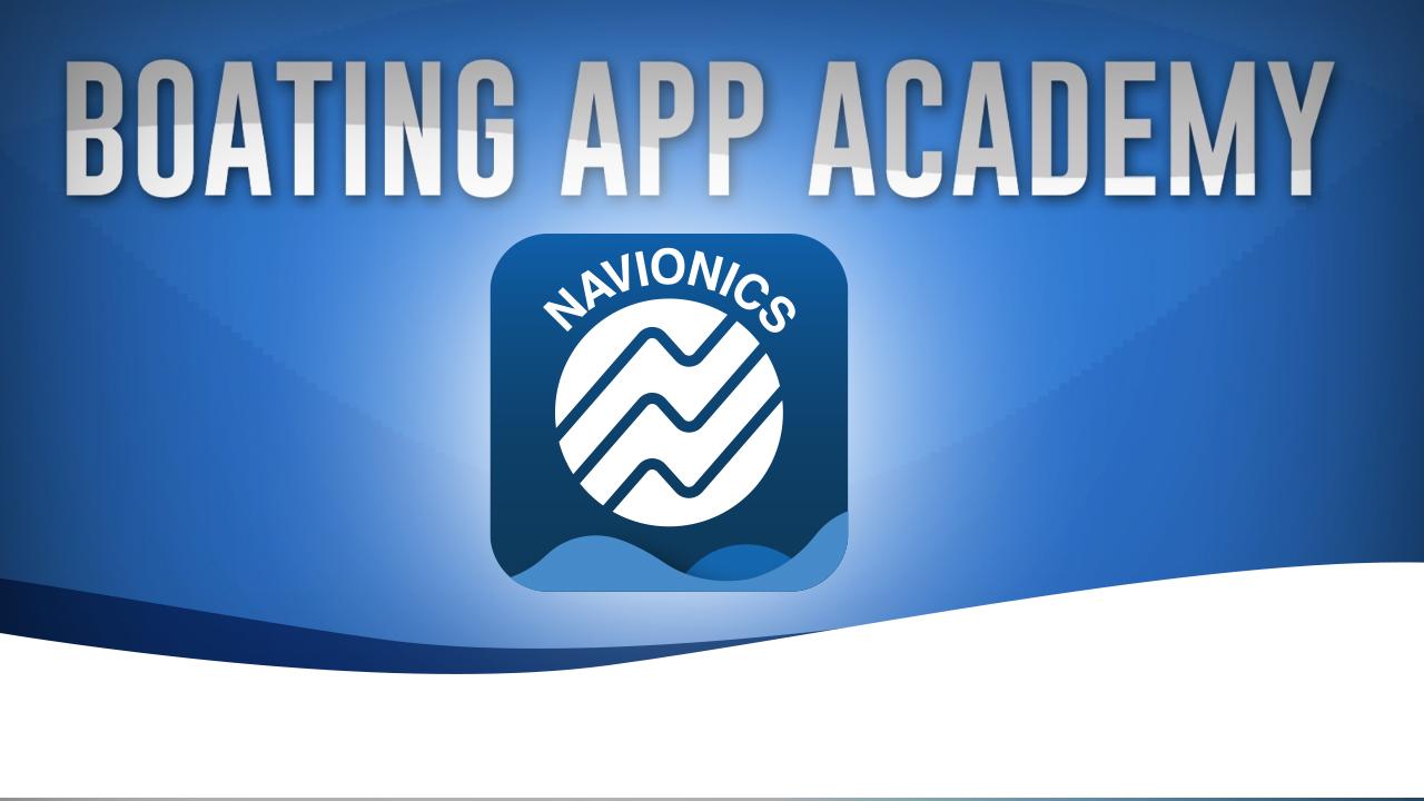 Verwenden der Wetter- und Gezeitenfunktion der Navionics Boating-App
