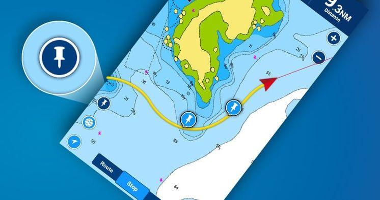 App Boating: contrassegna la tua posizione con un semplice tocco e fai molto altro