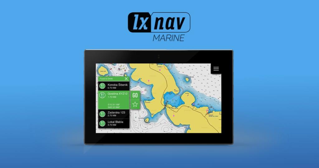 Los productos de LXNAV Marine ahora son compatibles con la cartografía de Navionics