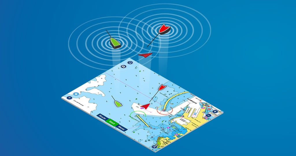 Boating app: AIS now with Collision Alarm