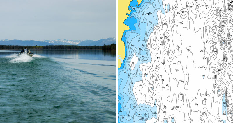 New Lakes in Alberta, Canada