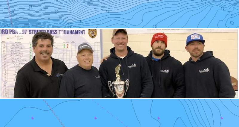 """""""Team Fin Chasers"""" wins 2017 LBI Striped Bass Grand Championship"""