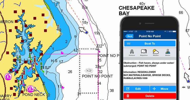 Cartes côtières des Etats Unis – environ 3000 récifs artificiels de plus
