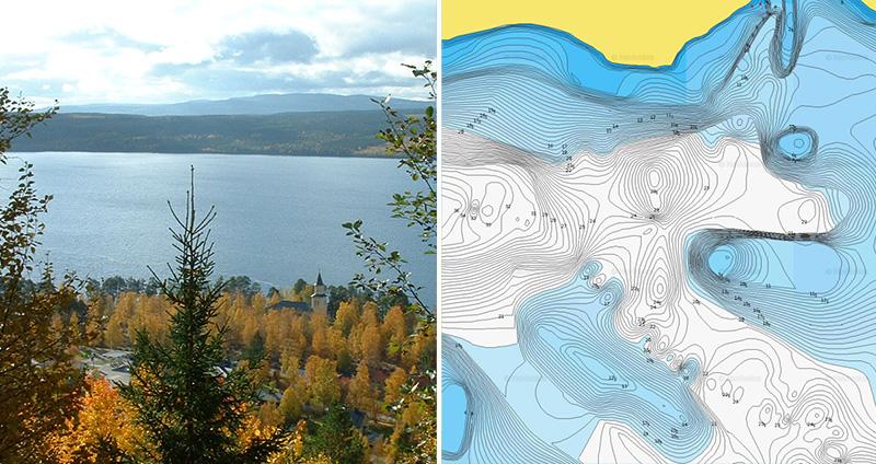 Nya sjöar i Sverige