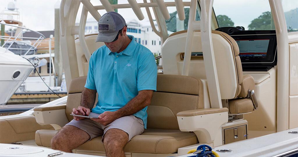 Cómo usar la aplicación Navionics Boating con tu plotter garmin