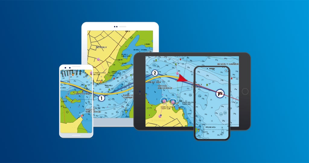Boating app: one subscription for all your devices