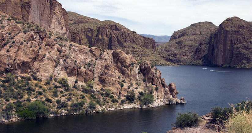 Update on the bathymetry of Apache Lake, Arizona
