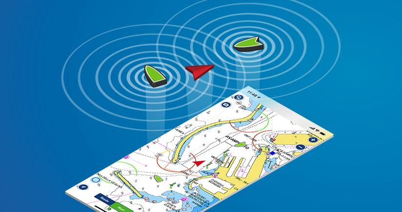 AIS nell'App Boating