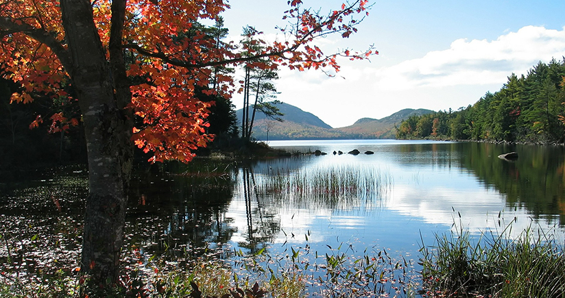Hundreds of Lakes Added to Maine Charts
