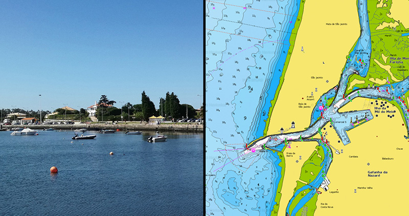 Aveiro marina in Portugal has been updated!