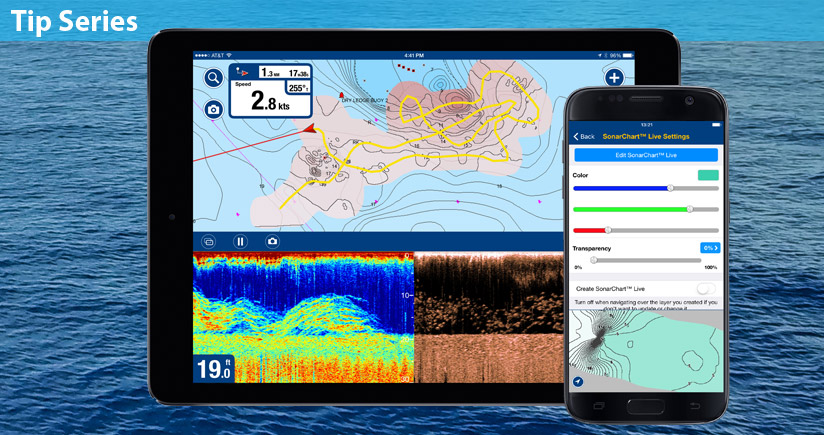 Create HD maps on your Boating app!